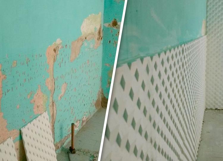 La mejor manera de eliminar la humedad en paredes - Quitar humedad pared ...