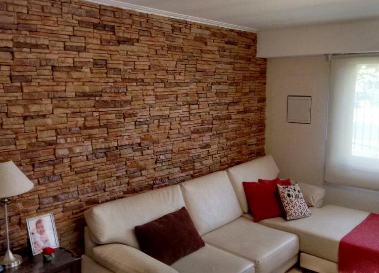 Los mejores trucos de decoraci n con piedra artificial - Placas imitacion piedra ...