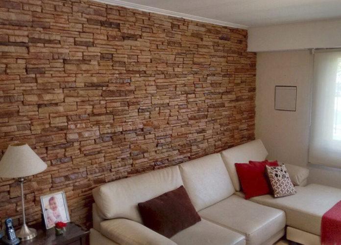 Revestimientos para lograr calidez en el hogar pirkastone for Placas de madera para revestimiento interior