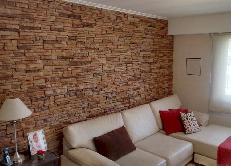Revestimientos para lograr calidez en el hogar pirkastone - Placas para paredes interiores ...