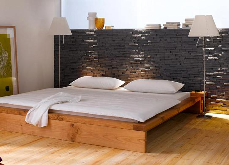 ideas para forrar paredes exteriores Grandes Ideas Para Decorar El Dormitorio Con Piedra